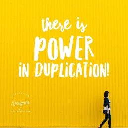 inspiration by terry the power of duplication for remote income
