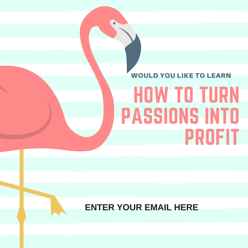 Subscribe learn how turn passion into profits