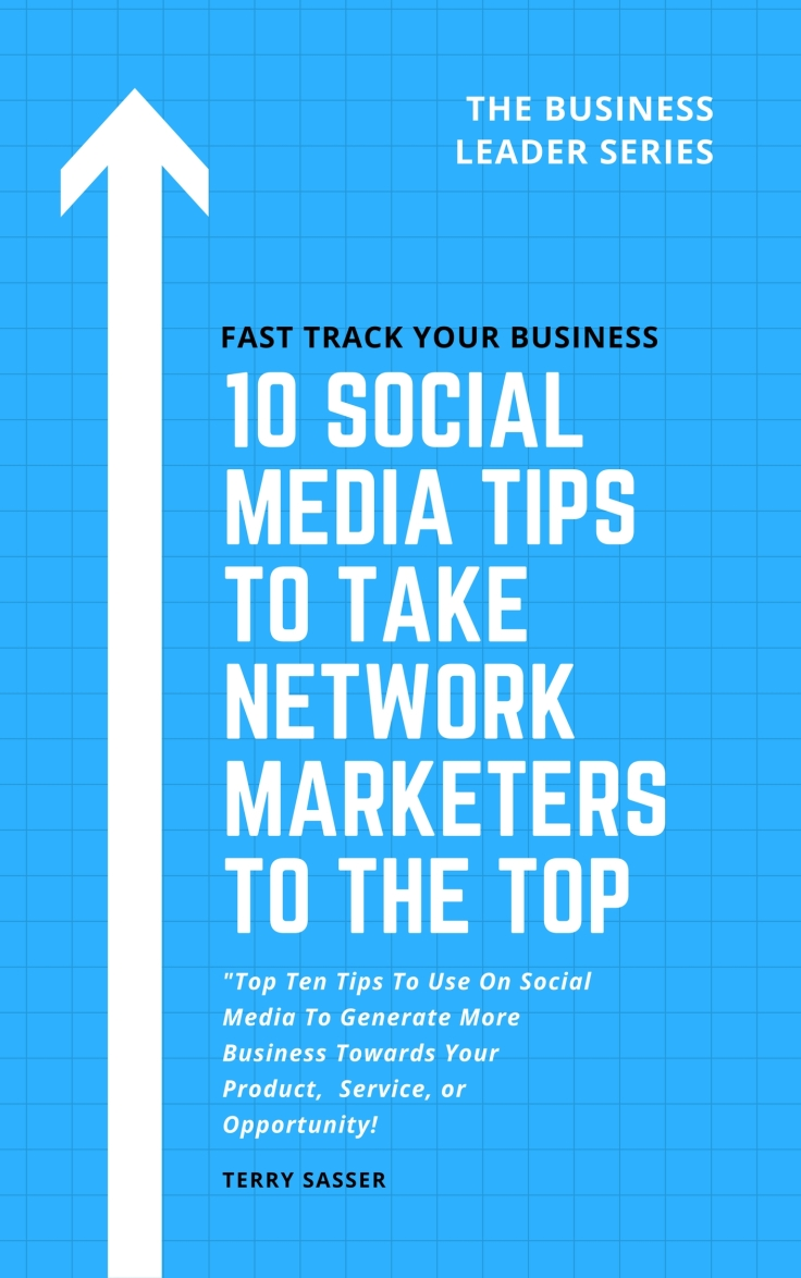 10 tips for network marketers book cover