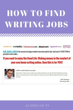 writing jobs pinterest