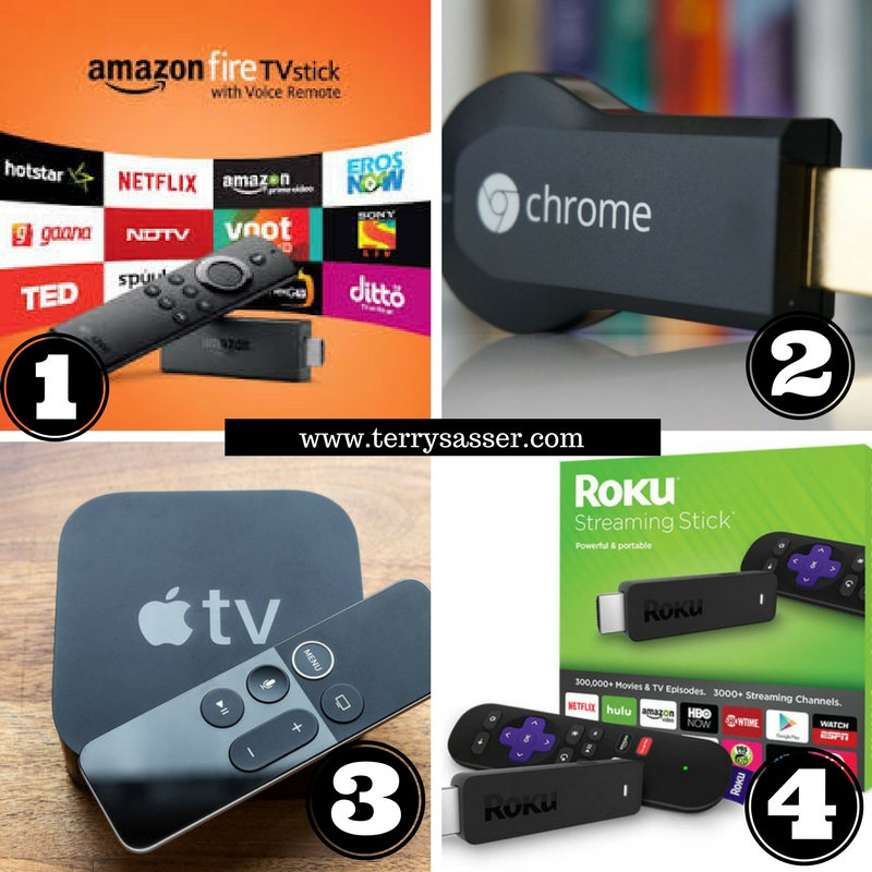 Do You Prefer Amazon Firestick, Google Chromecast, Roku, or