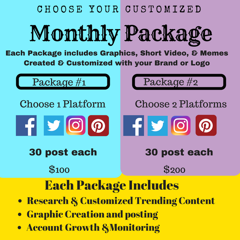 social management packages